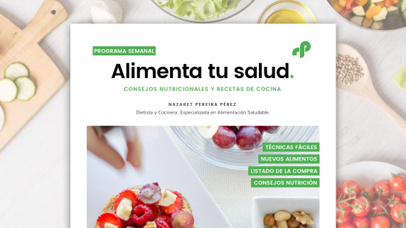 Ebook programa semanal saludable